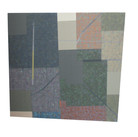 Will Insley (1929-2011) Wall Fragment No. 89.5, 1989 acrylic on masonite, 25.5 x 26 inches