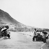 John Thomson (1837-1931)  The Praya, Hong Kong  photograph 1868 [printed later]  gelatin silver print from the glass negative, edition of 350  16 x 20 inches, stamped