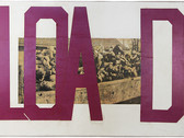 Boris Lurie (1924-2008)  Hard Writings (LOAD), 1972  paper and tape on paper mounted on canvas  23.5 x 34.5 inches