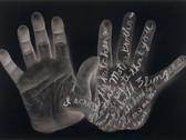 WILLIAM ANASTASI  Autobodyography V  1994  gelatin silver print  18 x 26.5 inches
