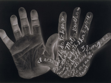 WILLIAM ANASTASI  Autobodyography V  1994  gelatin silver print  18 x 26.5 inches