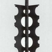 Herman Alfred Sigg  Untitled #9, 1994  wood, plastic, metal,  28 x 10 x 7 inches