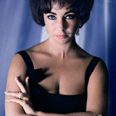 Douglas Kirkland Elizabeth Taylor, Las Vegas  photo 1961 [printed later]  archival pigment print on watercolor paper, edition of 24, signed, numbered paper size > 30 x 24 inches