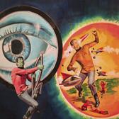 "Star Trek  ""Dwarf Planet""  George Wilson  Issue # 25/ July 1974  Watercolor, gouache on bookboard, 20 x 15 inches"