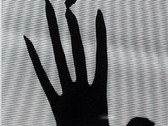ALBERTO RIZZO  Untitled (Dark hand with shadow with stripes)  circa 1980s  gelatin silver print  6 x 4.5 inches