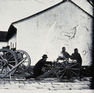 John Thomson (1837-1931)  Nanking Arsenal  photograph 1870-71 [printed later]  gelatin silver print from the glass negative, edition of 350, stamped  16 x 20 inches
