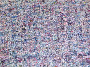 JAMES JUTHSTROM (1925-2007)  Untitled #99, circa 1960s  mixed media on paper 22 x 30 inches