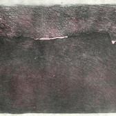 James Juthstrom [1925-2007] Untitled [Purple Horizon] , circa 1950s etching on paper, paper size > 11 x 17 inches