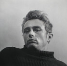 """Roy Schatt [1909-2002]  James Dean from the """"Torn Sweater"""" series, New York City  photo 1954 [printed later]  archival pigment print, AP, signed  paper size > 37 x 45 inches photo  Roy Schatt CMG"""