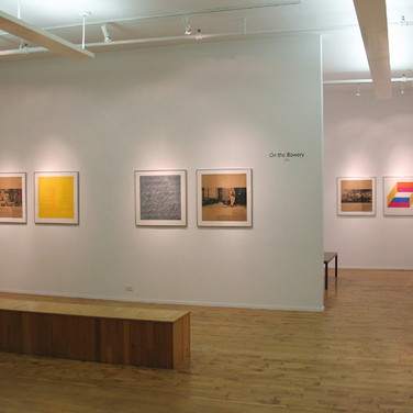 On the Bowery, 1971 Installation view WESTWOOD GALLERY NYC