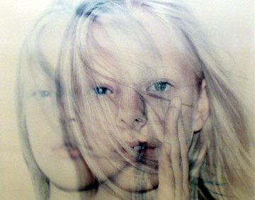 KRISTIN OPPENHEIM  Untitled (Thea with Hand)  2000  c-print, edition of 5  18 x 22 inches