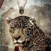Bryan el Castillo  Paradise Paradox VII [Jaguar]  fiber print on matte paper, AP  44 x 32 inches