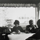 Jacques Lowe (1930-2001)  Diner, Oregon  photo 1959 [printed later]  gelatin silver print, edition of 75, signed  paper size > 16 x 20 inches