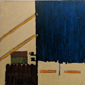 James Juthstrom (1925-2007) Untitled, circa 1960s oil on board 24 x 24 inches