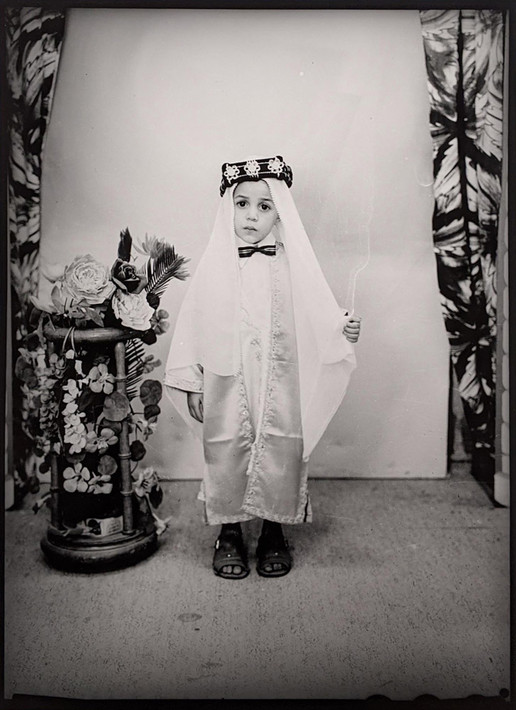 Lazhar Mansouri (1932-1985)  Untitled, circa 1960s [printed later]  gelatin silver print, edition of 5, stamped by the Estate Paper Size: 19.25 x 15 inches | 48.9 x 38.1 cm