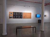explorations IN process Installation View  Artworks by Roger Welch