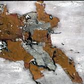 László Paizs  Double, Sitting Figures No. 3, 2002 acrylic on canvas,  54 x 88 inches
