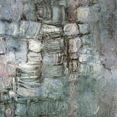 Stuart Sutcliffe (1940-1962)  Untitled Hamburg Series #3, circa 1961-62  oil on canvas, 46.5 x 39 inches