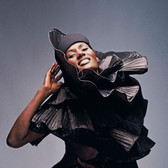 Douglas Kirkland  Grace Jones  photo 1994 [printed later]  archival pigment print on watercolor paper, edition of 24, signed, numbered  paper size > 30 x 24 inches