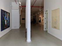 Artists on the Bowery Part 1 Installation View