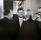 Jacques Lowe (1930-2001)  John F. Kennedy, 1960 vintage gelatin silver print  paper size > 11 x 13.75 inches