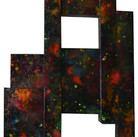 Charles Meyers  Untitled [Constellations], circa 1970s acrylic on panel  87 x 40 x 4 inches