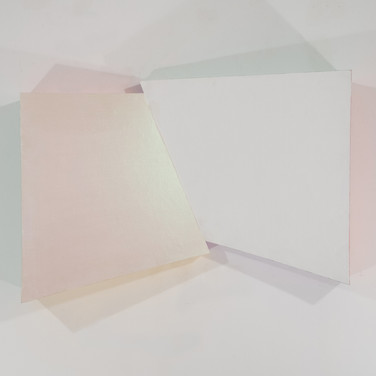 Charles Hinman Green Interference, 2008 acrylic on shaped canvas 31 x 49.5 x 10.25 inches
