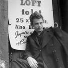 Roy Schatt [1909-2002]  James Dean  photo 1954  vintage gelatin silver print, signed, stamped  paper size > 10 x 8 inches image size > 9.25 x 7.25 inches  Photo Roy Schatt CMG