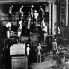 Leo Matiz (1917-1998)  Workers, circa 1970  vintage gelatin silver print  10 x 8 inches