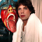 Douglas Kirkland  Mick Jagger, Mexico City  photograph 1983 [printed later]  archival pigment print, edition of 24, signed and numbered paper size > 24 x 30 inches