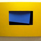Charles Hinman Beckett, 2006  paint on wood  47 x 70 x 8 inches