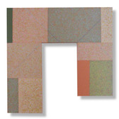 Will Insley [1929-2011] Wall Fragment No. 87.5, 1987 acrylic, pencil on masonite, 24 x 24 x 2 inches