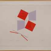 Charles Hinman Citi Rose, circa 1980s graphite, pastel on paper 27 x 35 inches