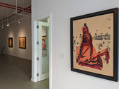 Andy Warhol: Working Material, 1980s, Installation View, Ground Level Gallery