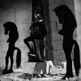 Lucien Clergue [1934-2014] Testament of Orpheus de Jean Cocteau, Les Baux de Provence photo 1959 [printed 2010] gelatin silver print, edition of 30 MF, signed paper size > 16 x 20 inches
