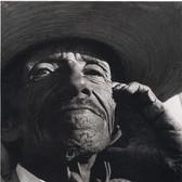Leo Matiz (1917-1998)  Turtle Man, Mexico, 1944 vintage gelatin silver print 10 x 8 inches