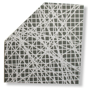 WILL INSLEY (1929-2011) Wall Fragment No. 98.1, 1998 acrylic on masonite 28.5 x 25.5 inches