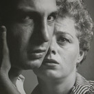 Roy Schatt [1909-2002]  Ben Gazzara and Shelley Winters in 'A Hatful of Rain.  Members of THE ACTORS STUDIO  photograph 1955  vintage gelatin silver print, stamped  size > 13 x 10 inches  © Estate of Roy Schatt