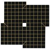 Will Insley [1929-2011] Wall Fragment 1963.6 Night Wall,1963 acrylic on masonite, 104 x 104 inches