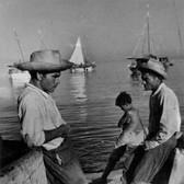 Leo Matiz (1917-1998)  Port, circa 1970 vintage gelatin silver print 10 x 8 inches