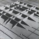 Will Insley (1929-2011) /Buildings/ No. 19-20 Interior Building Corridor of Life Gate, 1970-72 vintage photomontage, 30 x 30 inches