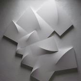 CHARLES HINMAN (b. 1932)  Aeolus, 1989 acrylic on shaped canvas  120 x 108 x 9 inches