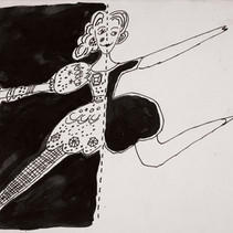 Andy Warhol Untitled, 1955-67 ink on paper, signed 8.5 x 11 inches | 21.59 x 27.94 cm