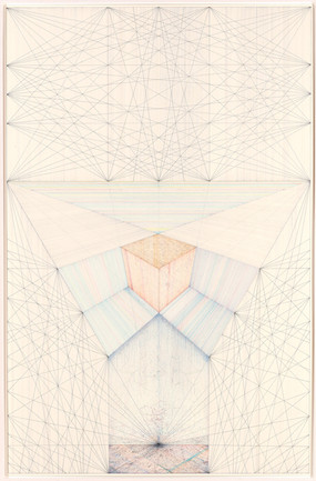 Alan Steele  Untitled, 2016 ink and pencil on ragboard 60 x 41 inches