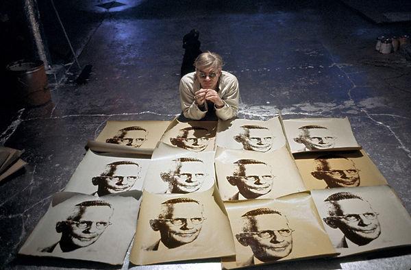 ADELMAN, Bob_Warhol with An American Man
