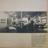 Charles Hinman in his studio, 1971  Photograph by Eliot Elisofon