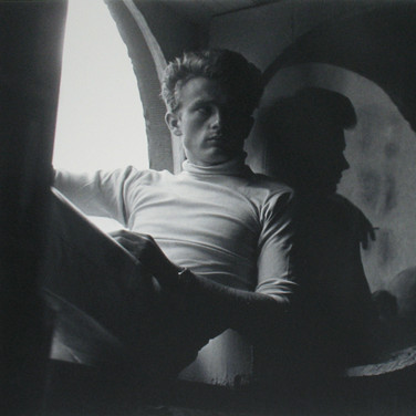 Roy Schatt [1909-2002] James Dean in his Apartment, W 68th Street photo 1954 [printed later] gelatin silver print, edition of 65, signed paper size > 20 x 16 inches photo Roy Schatt CMG