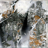 László Paizs Double Figures No. 4, 2002 acrylic on canvas,  54 x 57 inches