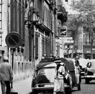Douglas Kirkland  Mademoiselle Chanel on rue Cambon outside the House of Chanel  1962 [printed later]  archival pigment print, edition of 24, signed  paper size > 24 x 20 inches