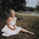 SAM SHAW [1912-1999]  Marilyn Monroe, Roxbury, CT  photo 1957 [printed later]  c-print, edition of 30, stamped by the Estate  paper size > 19.5 x 14.75 inches